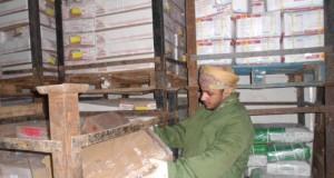 بلدية مسقط تتلف 30 ألف كيلوجرام من المواد الغذائية بسوق الموالح المركزي