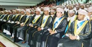 تخريج 286 طالبا وطالبة بتطبيقية الرستاق