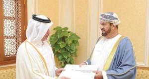 بدر بن سعود يستقبل سفيري الولايات المتحدة الأميركية ودولة قطر