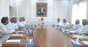 مناقشة أعمال لجان الشؤون البلدية بالوسطى