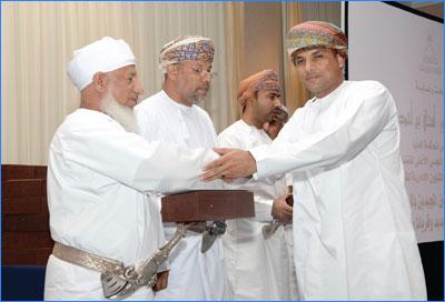 إسحاق البوسعيدي يرعى احتفال مجلس الشؤون الإدارية للقضاء بتكريم الموظفين المجيدين