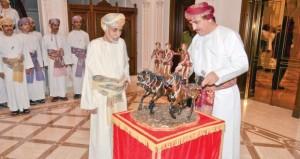جلالة السلطان يشمل برعايته السامية المهرجان السلطاني السنوي لسباق الخيل
