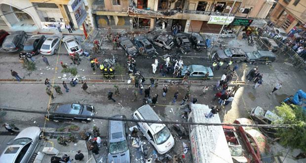 لبنان: الإرهاب يضرب الضاحية مجددا ويخلف 5 قتلى و(النصرة) تتبنى