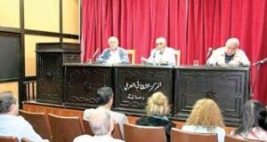 """مثقفون يصورون الأزمة التي يمر بها """"خيــر جليـــس"""" في الوطن العربي"""
