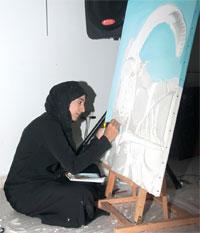 """""""بيئة"""" تدشن الملتقى التشكيلي بالجمعية العمانية للفنون التشكيلية"""