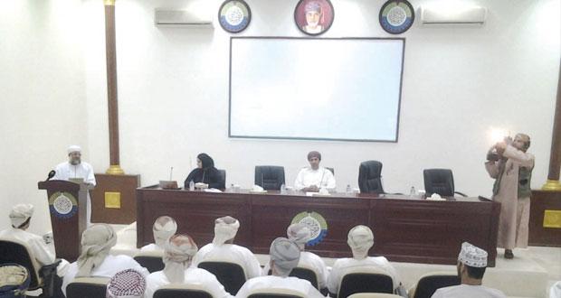محافظة مسندم تحتضن فعاليات النادي الثقافي
