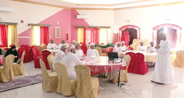 3 حلقات عمل لــ 70 مشاركا في فعاليات النادي الثقافي بمسندم