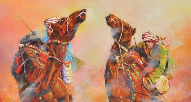 """اليوم افتتاح المعرض الشخصي للرسام التشكيلي يوسف النحوي """"غداً كان جميلاً"""" بجاليري سارة"""