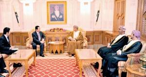فهد بن محمود آل سعيد يستقبل وزير الصناعة والتجارة بجمهورية فيتنام الاشتراكية