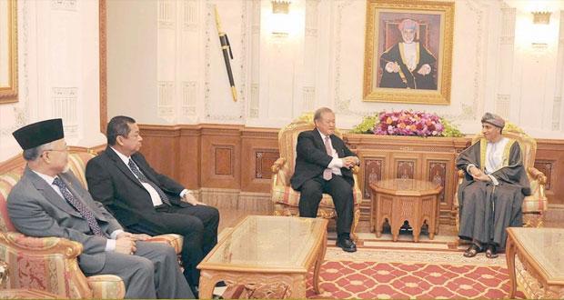 فهد بن محمود يستقبل الوزير الثاني للشؤون الخارجية والتجارة ببروناي دار السلام