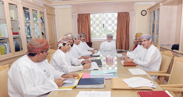 اجتماع تنسيقي لمتابعة إنشاء وتشغيل مستشفى السلطان قابوس (الجديد) بصلالة