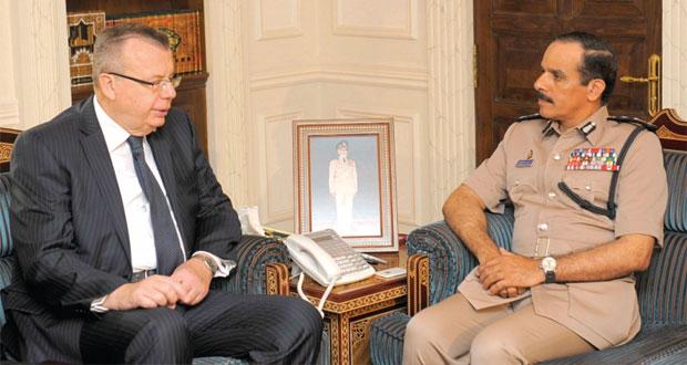 الشريقي والهلالي يستقبلان نائب الأمين العام للأمم المتحدة