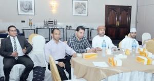 """المستشفى السلطاني ينظم حلقة عمل حول"""" رابطة اخصائيين العظام"""""""