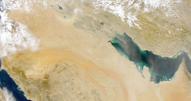 الجزيرة العربيه تعيش حاليا وضعا مناخيا يتسم بارتفاع درجة الحرارة مقارنة بالفترة قبل 1998