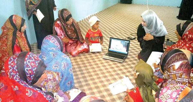 ختام الأسبوع الثقافي الثاني بمركز الوفاء لرعاية الأطفال المعوقين بالجبل الأخضر