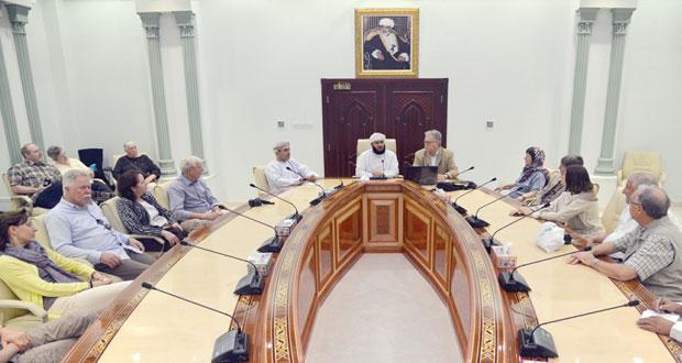 وفد الماني يزور وزارة الأوقاف والشؤون الدينية