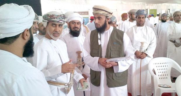 أمين عام مجلس الوزراء يرعى فعاليات أيام الحواضر والبوادي في محطته السادسة بمحافظة شمال الشرقية