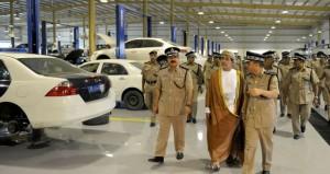 شرطة عمان السلطانية تحتفل بافتتاح المبنى الجديد للإدارة العامة للنقليات