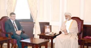 عبدالملك الخليلي والشريقي يستقبلان رئيس حكومة مقاطعة جوار السويسرية