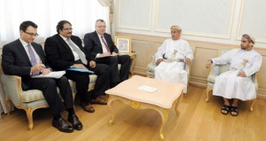 وزير الصحة يستقبل نائب الأمين العام للأمم المتحدة