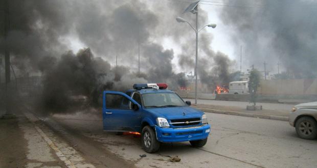 العراق: 13 قتيلا بهجوم انتحاري في (بعقوبة)