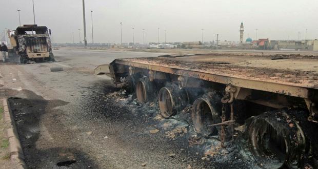 العراق: 19 قتيلا في تفجيرات والجيش يقصف القاعدة بالرمادي