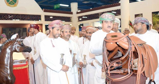 افتتاح المعرض الدولي للخيل والإبل والتراث( أصايل عمانية ) في نسخته الثالثة