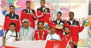 وزارة الشؤون الرياضية تحتفي بتكريم المجيدين في الأنشطة الرياضية لعام 2013م