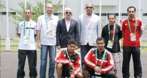 وزارة الشؤون الرياضية تحتفي بتكريم نجوم منتخباتنا الوطنية