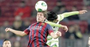 في كأس اسبانيا: ثنائية لميسي بعد عودته من الإصابة