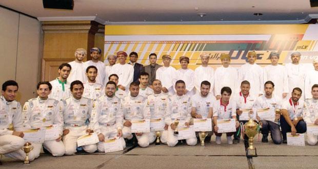 الاحتفال بأبطال كأس شباب عُمان للراليات 2013
