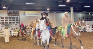 انطلاق المعرض الدولي للخيل والإبل والتراث( أصايل عمانية ) في نسخته الثالثة 14 يناير