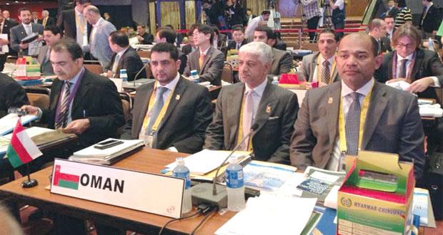 450 شخصية رياضية تحضراجتماعات المجلس الأولمبي الآسيوي بمانيلا