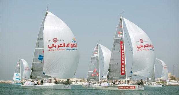 استعدادات كبيرة لانطلاقة نسخة 2014م من الطواف العربي للإبحار الشراعي