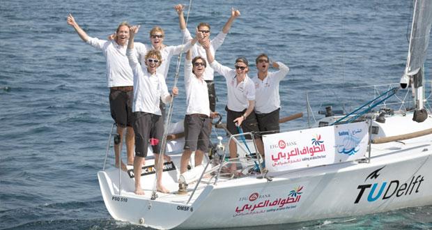 فريق ديلفت الهولندى يشارك في سباقات الطواف العربي للإبحار الشراعي