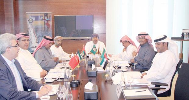 اجتماع اللجنة التنظيمية للسباحة الخليجية بالدوحة