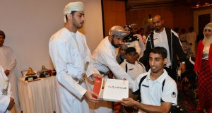 وزارة الشؤون الرياضية تكرم المجيدين في مختلف الأنشطة الرياضية لعام 2013