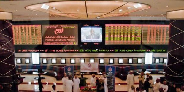 تراجع طفيف في أداء سوق مسقط الأسبوع الماضي متأثرا بإعلانات الشركات عن توزيعاتها المقترحة وعمليات بيع لجني الأرباح