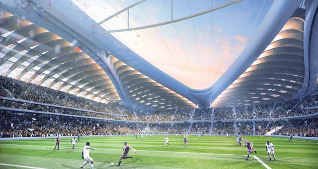 """""""قطر جاهزة للاستضافة في أي موعد والملاعب ستكون مكيفة"""""""