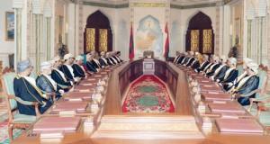 جلالة السلطان يستعرض الأوضاع المحلية والإقليمية والدولية خلال ترؤسه لاجتماع مجلس الوزراء