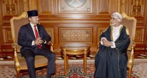 جلالة السلطان يبحث مع ولي عهد بروناي تعزيز التعاون بين البلدين