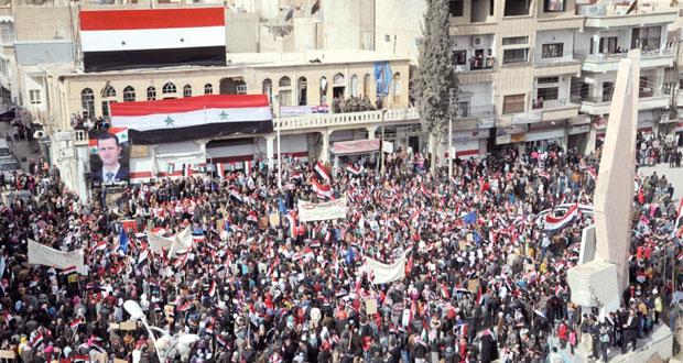 الجيش السوري يكثف عملياته ضد (الإرهاب) والحكومة إلى (تعميم المصالحة)
