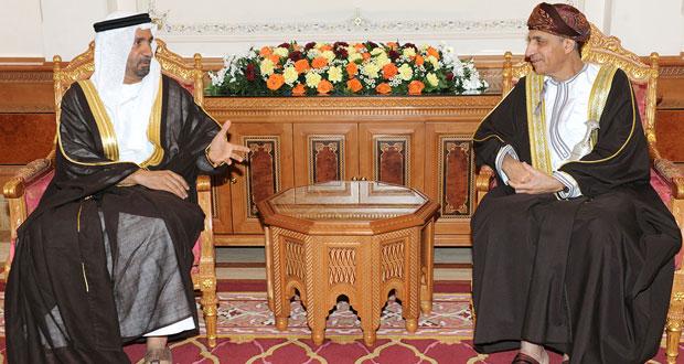 فهد بن محمود يستقبل رئيس البرلمان العربي