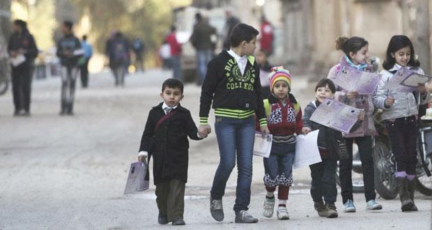 سوريا: اتفاق لخروج المدنيين من حمص وموسكو لا ترى حاجة لمجلس الأمن