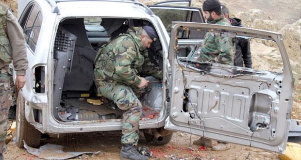 الجيش اللبناني يضبط (مفخخة) قادمة من القلمون