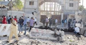 الرئيس الصومالي ينجو من هجوم على قصره