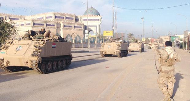 """العراق: مقتل 14 مسلحا واعتقال 22 في عملية استهدفت """"أتباع عزة ابراهيم"""""""