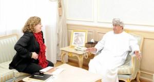 السعيدي يستقبل القنصل الفخري ورئيسة معهد الشرق الأوسط الأميركي