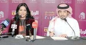 نوال الكويتية تصدح بصوتها الشجي وفهد الكبيسي يقدم الإبداع القطري في سوق واقف