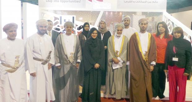 بنك مسقط يشارك في دعم وإنجاح معرض ومؤتمر المؤسسات الصغيرة والمتوسطة لعام 2014